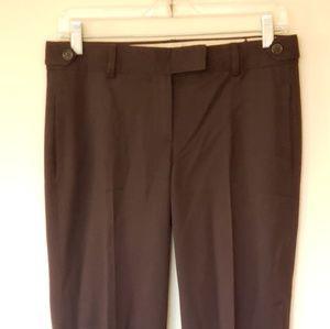 Theory Dress Pants Brown Wool Sz 2